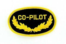 Patch Embroidered Thermoadhesive Marine Naval Aviation Co-Pilot Copilot Aircraft