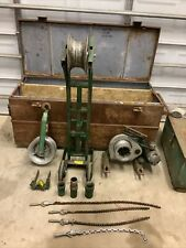 Greenlee Wire Cable Puller 4000 640 642 Wire Tugger Chugger Ed4u Package 9132b