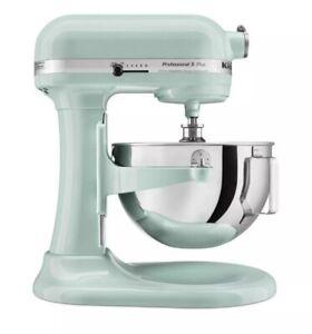KitchenAid Professional Plus 5 Qt - Lift Stand Mixer Ice Blue (KV25G0X) - NEW