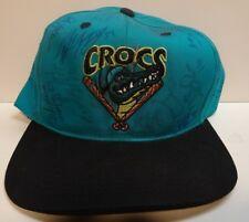 vintage Cape Fear Crocs Snapback Hat Team Autographed cap MiLb Montreal Expos