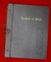 Leaves Of Gold Inspirational hardcover Book Anthology Of Spiritual Prayers 1959