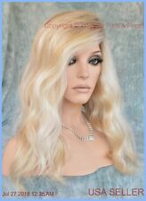 Sarah Jon Renau Lace Front Monotop Fully Hand Tied Wig LAGUNA BLOND FS2/102S12