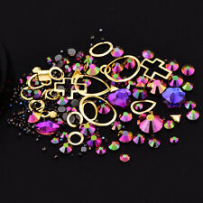 New Charm 3D Nail Art Tips Crystal Rhinestones DIY Glitters Jewelry Decoration