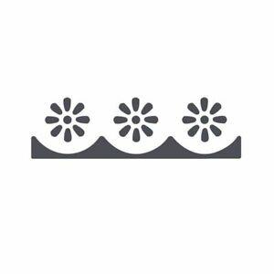 Perforatore per bordi Fiorellini - Fustella perforatrice decorativa carta scrap