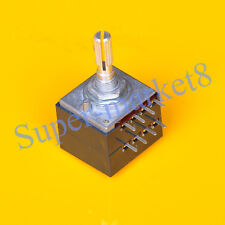 Potentiometer Pot  250KA LOG Knurl Stereo Audio Amp 27 Type 1pc