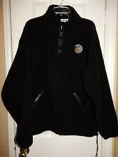 WOLF CREEK Men's Black Thick Fleece 1/2 Zip Pullover Baselayer Ski Jacket Size L