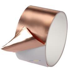 Adhesive Copper Foil Tape EMI Shielding Guitar Slug and Snail Barrier 5CMx2M #L