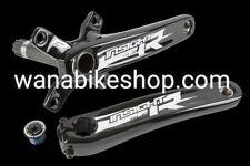 Insight BMX Alloy 4-Bolt 2 Piece RLC Crankset 180mm Black