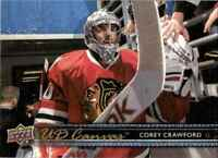 2014-15 Upper Deck Canvas Corey Crawford Chicago Blackhawks #C138
