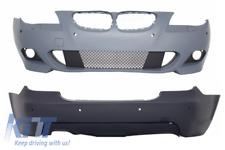 Paraurti anteriore e paraurti posteriore con PDC 18 millimetri BMW Serie 5 E60