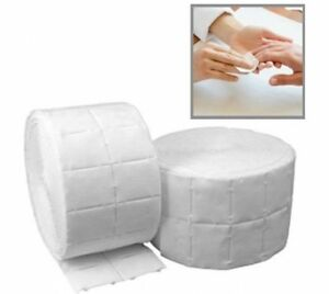 500X Nail Wipe Art Gel Acrylic Polish Remover Cotton Pads Roll Pedicure Manicure