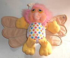 "Vintage 1986 Hasbro Wing Dings ~ WISP ~ 12"" Plush Toy Teddy - (A3)"