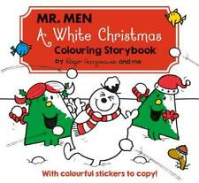 Mr Men A White Christmas Colouring Storybook, Hargreaves, Adam, New