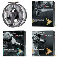 Greys GTS500 Cassette Fly Fishing Reel with Choice Of Line + Neoprene Case