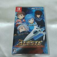 ALESTE Collection Japan Short triggers NEW Switch A2 Nintendo F/S game soft