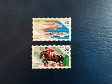 GERMANY BERLIN MNH 1986 FUR DEN SPORT SWIMMING SHOW JUMPING CHAMPIONSHIP