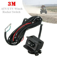 3 Meters ATV/UTV Winch Rocker Switch Handlebar Control Line Warn Accessories Set