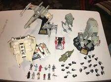 Star Wars Micro Machines Lot Vintage 1990's Figures & Vehicles Galoob Toy