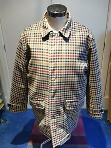 Sterling Men's Medium Checked Overcoat