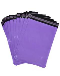 PURPLE MAILING BAGS PARCEL POSTAL SACKS ENVELOPES MAIL POST BAG RECYCLABLE