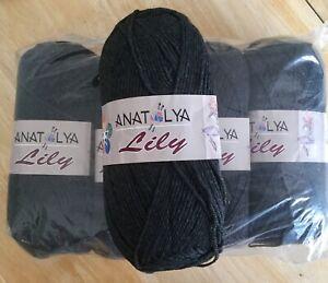 Anatolya Lily Dk yarn (Grey) 5 x 100 Grams - #177