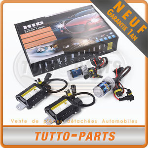 KIT DE CONVERSION AMPOULE XENON HID H7 5000K 35W