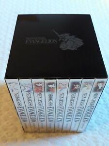Neon Genesis Evangelion 8 dvd BOX Collector's box -ITALIA- Dynit COME NUOVI