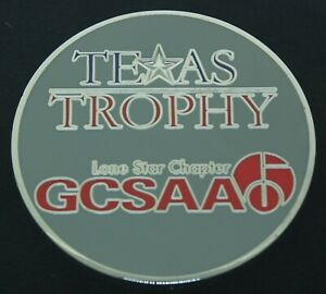 Texas Golf Course Superintendents Association of America Challenge Coin CC-19