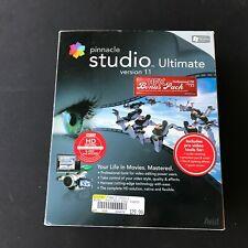 Pinacle Studio Ultimate Version 11 Video Editing Software (Complete) Big Box
