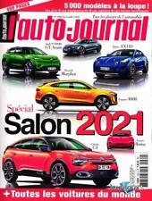 SPECIAL SALON 2021 TOUTES LES VOITURES DU MONDE  L AUTO JOURNAL 07 2020
