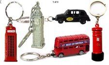 12 LONDON SOUVENIRS KEYCHAINS BRITISH ROYAL GUARD UNION JACK CHARM KEYRING UK