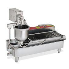 850~1000pcs/H Commercial Electric Automatic Doughnut Donut Machine 110V/220V USA