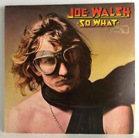 Joe Walsh So What MCA 37055 LP Record