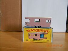 Vintage Lesney Matchbox  Trailer Caravan ~ #23