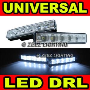 Super Bright LED Daytime Running Light DRL Fog Lamp Day Lights Daylight Kit C96