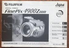 Fuji Digital FinePix 4900 Zoom  - Anleitung von 09.2000