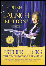 Abraham-Hicks Esther 3 DVD PUSH THE LAUNCH BUTTON - (Alaska 2012 Cruise) - NEW