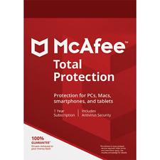 McAfee Total Protection 2021 1 Dispositivo 1 Anno Licenza ESD