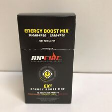 RipFire Energy Boost Powder Mix  Peak Performance  Dietary Supplement 15 Packets