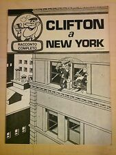 raymond macherot CLIFTON A NEW YORK inserto del Corriere dei Piccoli 1970
