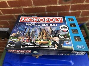 monopoly World edition Barely Used
