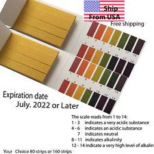 Ph Indicator Test Strips 1 14 Paper Litmus Tester Urine Amp Saliva Laboratory