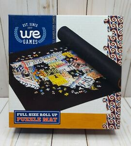 """Puzzle Mat Full Size Roll Up 36"""" X 30"""" We Games ~ NEW"""