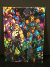 """1992-Punisher,The - """"Guts And Gunpower"""" - """"Prism"""" - """"Subset Chase Card"""" - """"#3."""""""