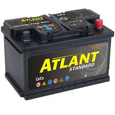Autobatterie 77Ah 12V 710A/EN ATLANT TOP ANGEBOT SOFORT & NEU 77 Ah