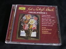 TON KOOPMAN - SIMON PRESTON 'Bach Organ Works' 1992 CD DG 463 016-2