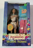 Disney's 1995 POCAHONTAS Sun Colors Doll NRFB #13328 Mattel NEW! Rare