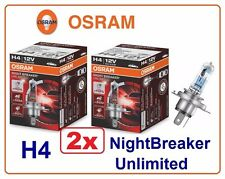 2x H4 Night Breaker Unlimited +110% OSRAM 64193NBU 60/55W 12V P43t fog Germany