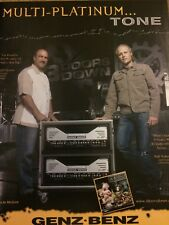 Three Doors Down, Genz Benz Equipment, Full Page Promotional Ad, 3