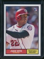 2018 Topps Throwback Thursday Juan Soto RC Card #184 Rookie SP